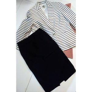 Zara woman black pencil skirt